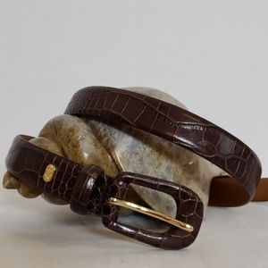 Lauren Ralph Lauren Leather Belt Size M